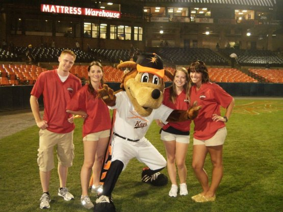 One of hundreds of reasons to vote for Keyote: The ladies love him.