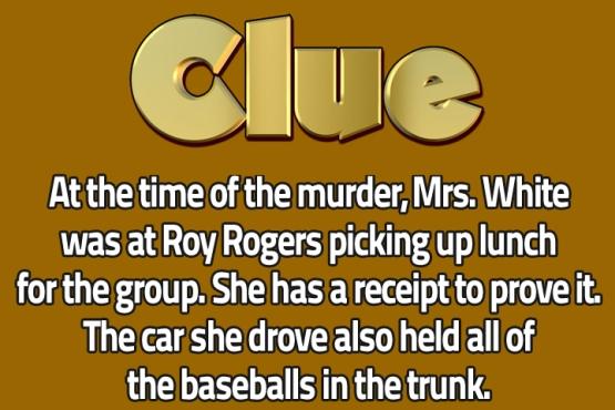 Clue Slate 1
