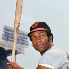 Robinson with the Orioles courtesy: Biography