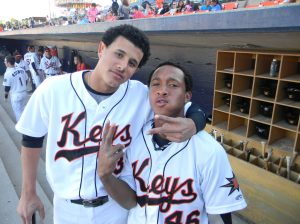 Schoop and Manny Machado as members of the Keys. O's double-play combo of the future?