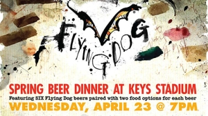 Flying Dog Beer Pairing 4-23
