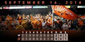 Orioles Clinch 3