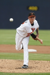 Zach Davies was among the top pitchers in the Arizona Fall League.