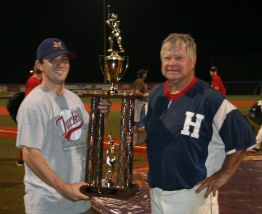 The year after I was done playing we won it all. Still a great moment with my dad.